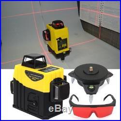 12 Line Laser Level Self Leveling 360 Degree Vertical & Horizontal Cross Measure