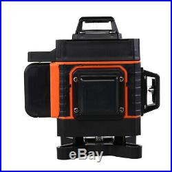 16 Lines Rotary 360° Laser Level Self Leveling Horizontal Vertical Cross Measure
