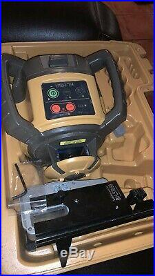 2018 Topcon Rl-h5a Self- Leveling Rotary Laser Level With Ls-80 Receiver