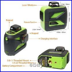 2360 degree green Self Leveling Cross Line Laser Level 602CG + Laser Receiver