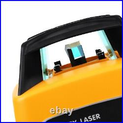 360° Automatic Self Leveling Rotary Laser Level beam Range 500M Green Us