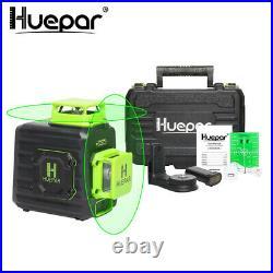 360 Cross Line Self leveling Laser Level Green with Li-ion Battery + Hard case