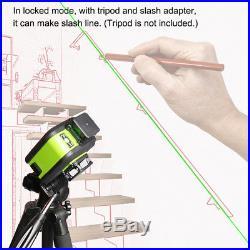 3D 12 Linie Kreuzlinienlaser Baulaser Self-Leveling 360° grün Horizontal+Vertika