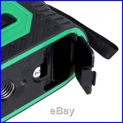 3D Grün Laser Level 360° Rotationslaser Self-Leveling Kreuzlinienlaser 12 Linen