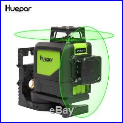 3D Laser Level 8 Line Green Self Leveling Outdoor 360 Rotary Cross Measure Tool