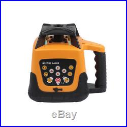 500M Range Auto Self Leveling Rotary Rotating Laser Level Red Beam With Case