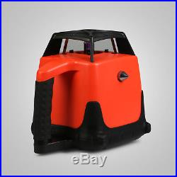 500m Range Self-leveling Laser Level Rotary Rotating Red Beam with case
