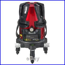 8 line Professional Rotary Laser Beam Self Leveling Exterior+ Level Tripod HOT