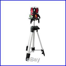 8 line Rotary Laser Beam Self Leveling Interior Exterior horizontal Laser Tripod