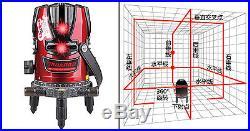 8 lines 9 points laser level (4V4H1D)self leveling rotary laser level