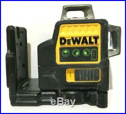 AS-IS for Parts/Repair Dewalt 12V 3 x 360 Line Laser DW089LG NO Battery/Charger