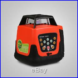 AUTOMATIC GREEN ROTARY LASER LEVEL SELF-LEVELING GREEN BEAM WithCASE ROTATING