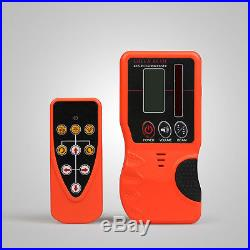 AUTOMATIC RED ROTARY LASER LEVEL SELF-LEVELING 500M RANGE CONSTRUCTION WithCASE