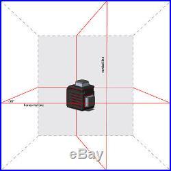 AdirPro Cube 2-360 Cross line Self leveling Laser Level Ultimate Package Tripod
