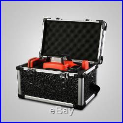 Auto Self-Leveling Horizontal Cross Line Rotary Laser Level kit 500M withCase