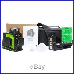 Autolevel Laser level Vertical Horizontal Cross Green Laser Beam Line + Receiver