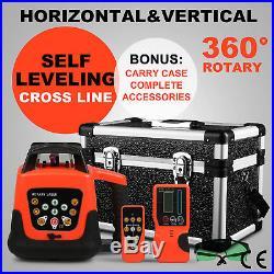 Automatic Electronic Self-Leveling Rotary/ Rotating Green Laser Level 500m Range