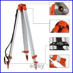 Automatic Self-Leveling 500m Red Beam 360 Rotary Laser Level Kit +Tripod, Staff
