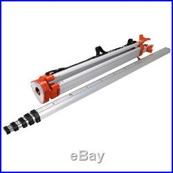 Automatic Self-Leveling 500m Red Beam Rotary Laser Level Kit Staff + Tripod
