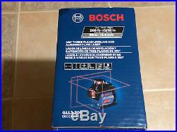 BOSCH 360 200 ft Self Leveling Alignment 3Plane Cross Line Laser Level GLL3-300