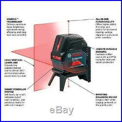 BOSCH GCL 2-160 S-RT 65 ft. Self Leveling Cross Line Laser Level with Plumb Points