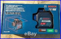 BOSCH GLL3-300 360 3-Plane Leveling and Alignment Line Laser