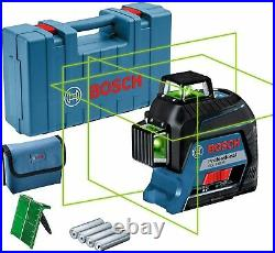 BOSCH GLL 3-80 G Professional Green Line Laser Level + Carrying Case 0601063Y00