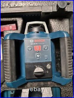 BOSCH GRL 300 HV Professional Self Leveling Rotating Laser kit 300m