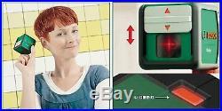BOSCH Quigo PLUS Cross Line Laser Self Levelling Spirit Level Mounting F/S