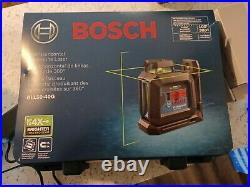 Bosch 100' Cross-Line Green Beam Self Leveling Laser Level GLL50-40G NEW, OTHER