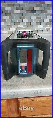 Bosch 1650 ft. Self Leveling 360° Rotary Laser Level, GRL 500 HCK