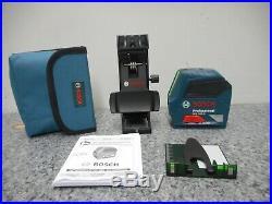 Bosch 1.5V VisiMax Green-Beam Self-Leveling Cross Line Laser GLL100G New NO BOX