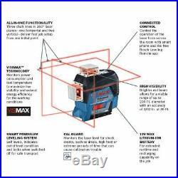 Bosch Blue 3 x 360º Extra Bright Plane Line Laser-Self-levelling (4° in 4 sec)