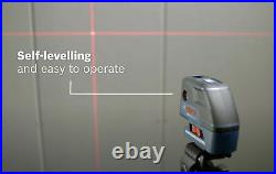 Bosch Combi 5 Point Cross Line Laser Level Self Levelling Gcl 25 Professional