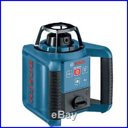 Bosch Dual-Axis Self-Leveling Rotary Laser Kit withTripod GRL250HVCK-B-RT Refurb
