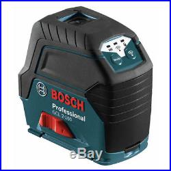 Bosch GCL2160SRT Self-Leveling Cross Line Laser with Plumb Points Reconditioned