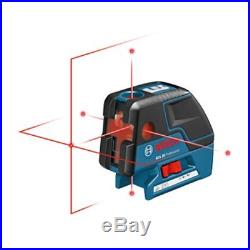 Bosch GCL25 5-Point Self Leveling Alignment Laser with Cross-Line