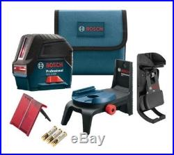Bosch GCL2-160S Self-Leveling Cross Line Laser with Plumb Points