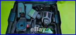 Bosch GCL 2-50 CG Green Beam Combi Laser + RM2 Wall Mount 1x2.0Ah Battery