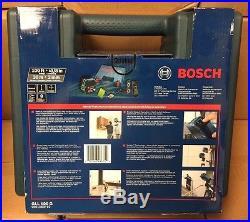 Bosch GLL100G Self-Leveling Green-Beam Cross-Line Laser NEW