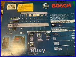 Bosch GLL100-40G 100 ft. Cross Line Laser with VisiMax Green Beam GLL100-40G -CR