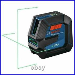 Bosch GLL100-40G 100 ft. Self Leveling Cross Line Laser with VisiMax Green Beam