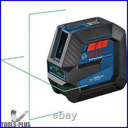 Bosch GLL100-40G 100ft Green-Beam Self Leveling Cross-Line Laser New