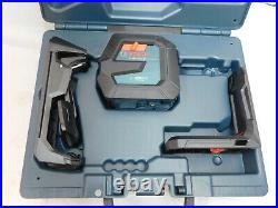 Bosch GLL100-40G Green-Beam Self-Leveling Cross-Line Laser in Hard Case