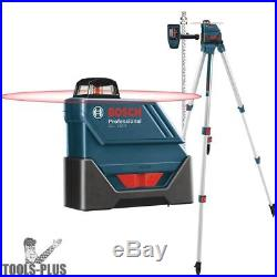 Bosch GLL150ECK-RT Self-Leveling 360º Exterior Laser Complete Kit Recon New