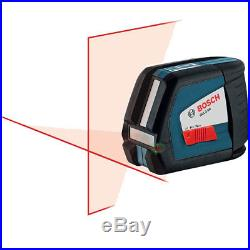 Bosch GLL2-50 Self-Leveling Cross-Line Laser withPulse New