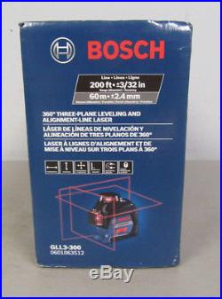 Bosch GLL3-300 3 Plane Self Leveling and Alignment Cross Line Laser Level