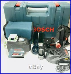 Bosch GLL3-330CG 360-Degrees 3-Plane Green Beam Self-Leveling Line Laser