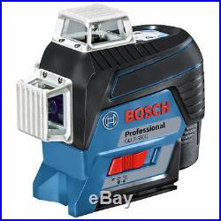 Bosch GLL3-330C 360-Degrees 3-Plane Red Beam Self-Leveling Line Laser Kit