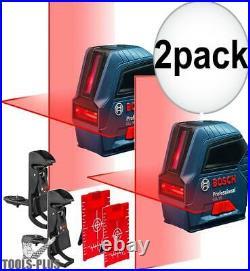 Bosch GLL50-RT Self-Leveling Cross-Line Laser Kit 2x